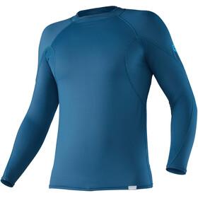 NRS H2Core Rashguard Camiseta de manga larga Hombre, moroccan blue